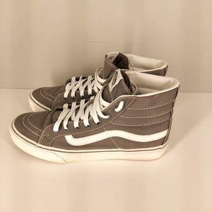 Vans Unisex Skate Shoes Gray 721277 Lace Up High